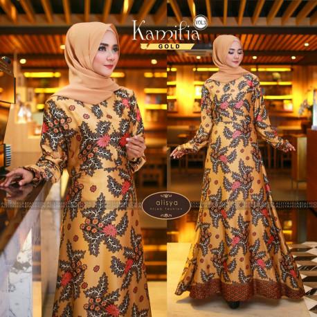 Kamilia Dress Gold