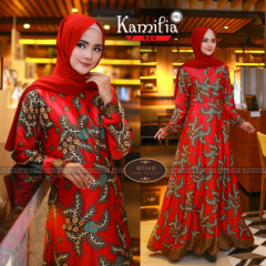 Kamilia Dress Red