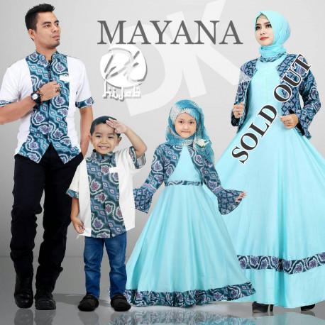 Mayana Dk Hijab Blue