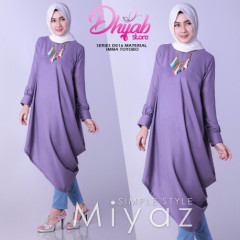 Miyaz Tunik d016 Purple