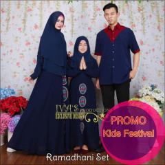 Ramadhani dress kids navy