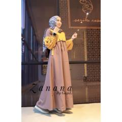 Restok Zanana Dress by Gagil Milo