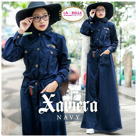 Xaviera by labelle Navy