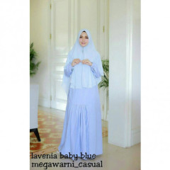 lavenia set syari baby blue