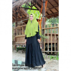 lavenia set syari black