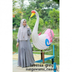 lavenia set syari grey