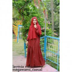 lavenia set syari maroon