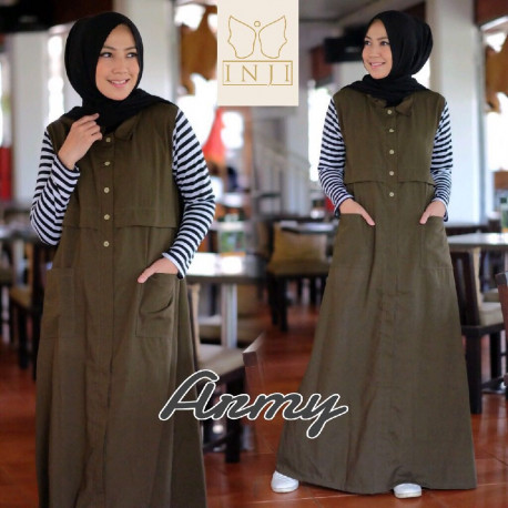 Alya Dress Army