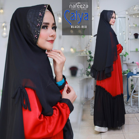 Calya Red Black
