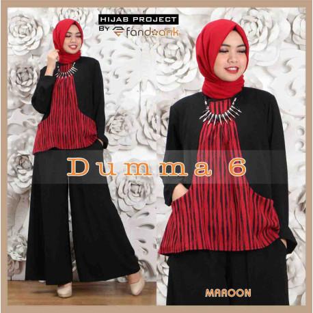 Dumma 6 maroon