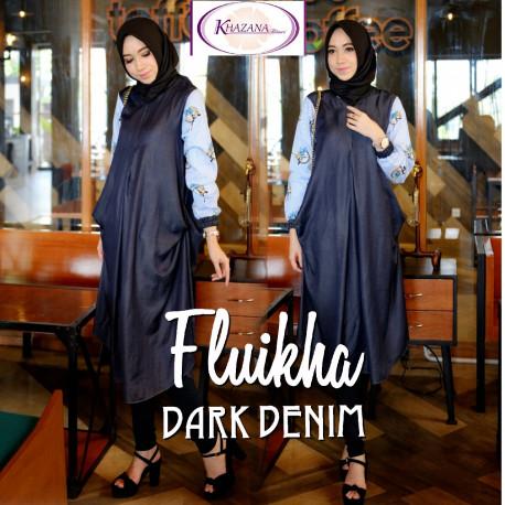 Fluikha by khazana btari Dark Denim