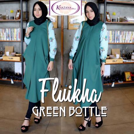 Fluikha by khazana btari Green Bottle