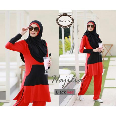 Hajilia Red Black