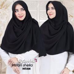 Jilbab Sheila Black