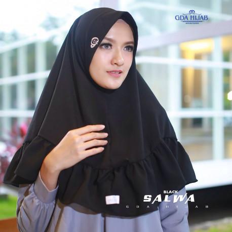 Khimar Salwa Black