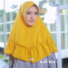 Khimar Salwa Mustard