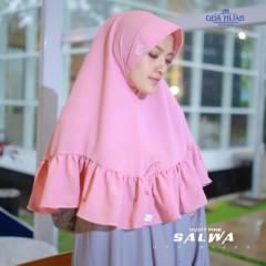 Khimar Salwa Pink
