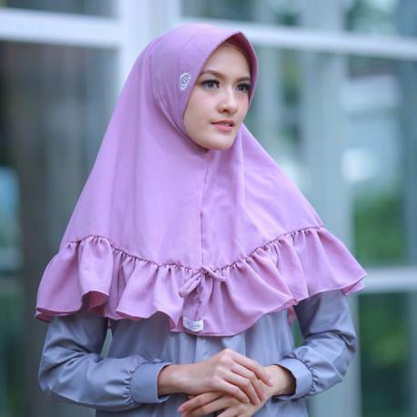 Khimar Salwa Purple