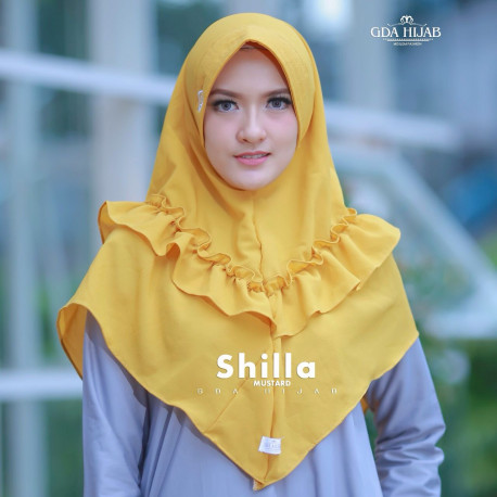 Khimar Shilla Mustard