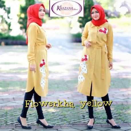 flowerkha by khazana btari Yellow