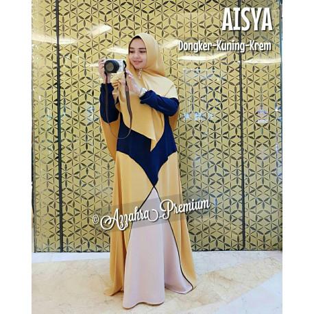 Aisyah Dongker-Kuning-Krem