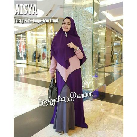 Aisyah Pink-Ungu-Abu