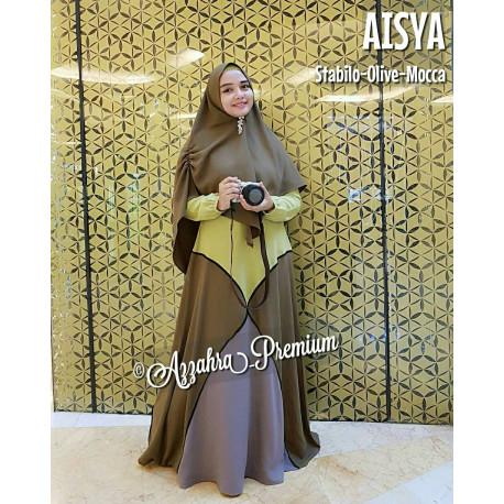 Aisyah Stabilo-Olive-Mocca