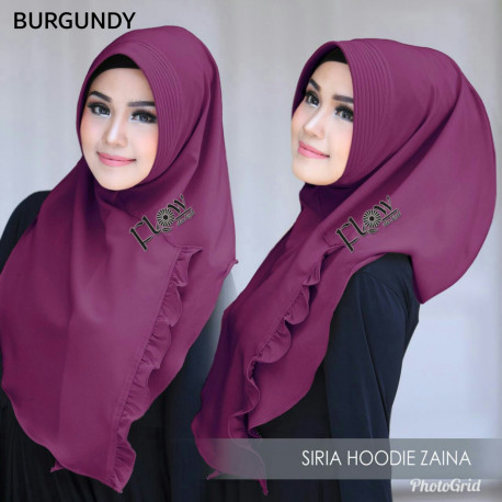 Jilbab Zaina Burgundy