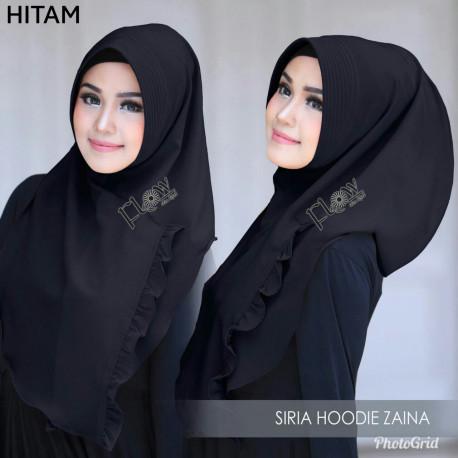 Jilbab Zaina Hitam