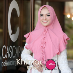 Khimar Rafina Rose Gold