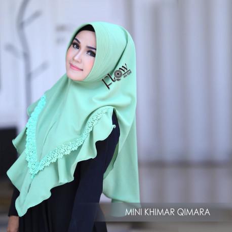Mini Khimar Qimara Olive