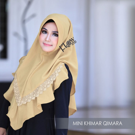 Mini Khimar Qimara khaki