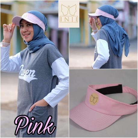Topi Muslimah Pink