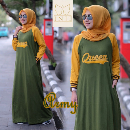 Queen Dress Army