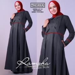 Ramsha Dress Grey