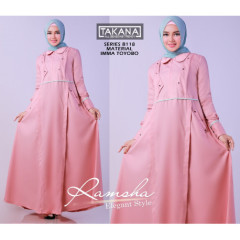 Ramsha Dress Pink
