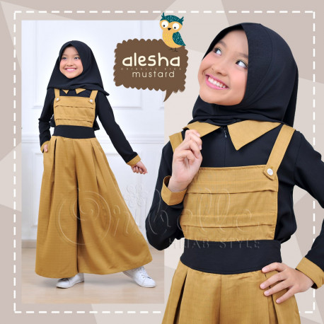 Alesha Kids Mustard