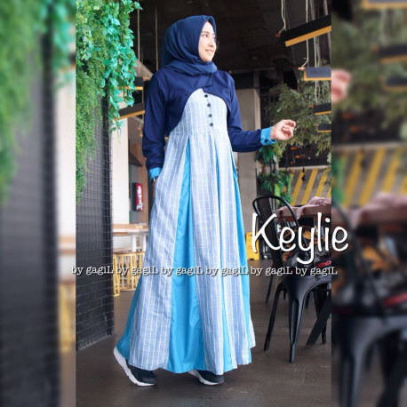 Keylie Dress Blue