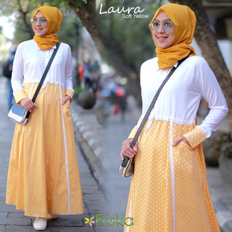 Laura By Friska Soft Yellow