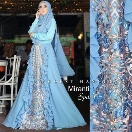 Miranti Syari 4 Blue