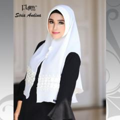 Khimar Andhina White