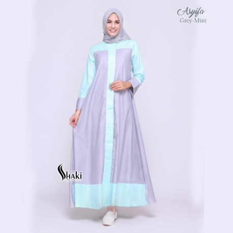 Asyifa Grey Mint