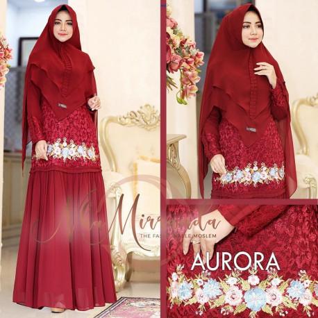 Aurora Syari Maroon