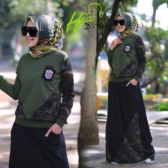 Zhia Army Black