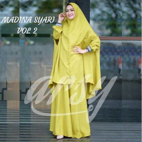 Madina Syar'i Yellow
