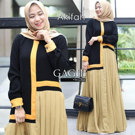 Afikah Dress Golden