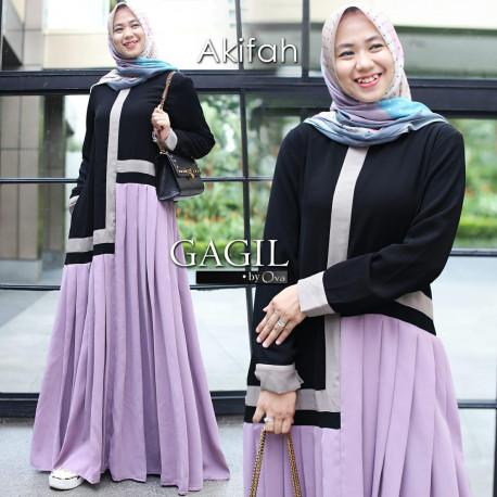 Afikah Dress Lavender