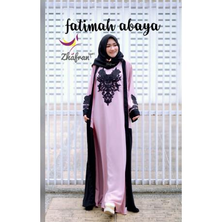Fatimah Abaya Pink
