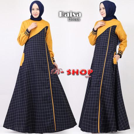 Raisa Dress Kunyit