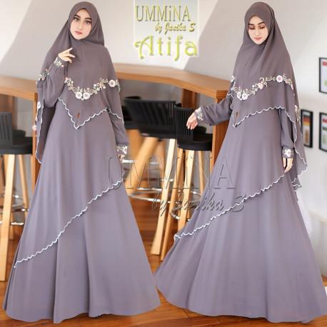 Atifa Dark Grey